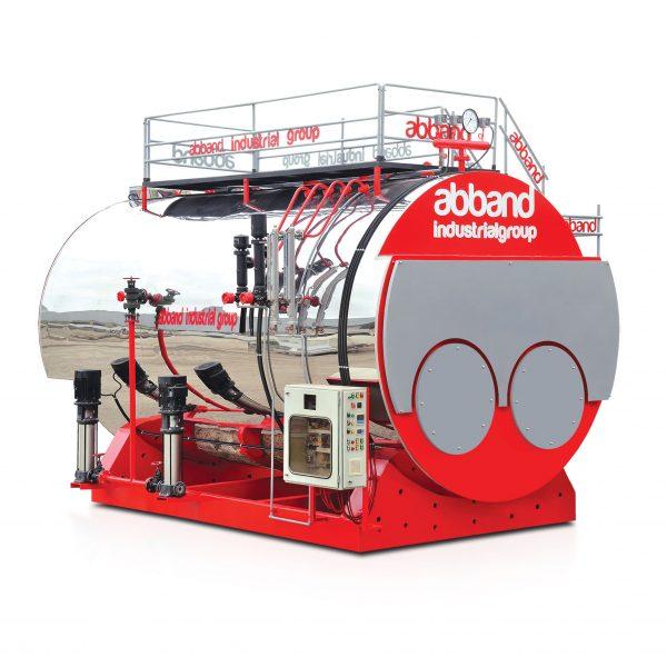 Dual Furnace Steam Boiler